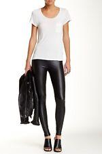 Womens Free Press Black Liquid Faux Leather Legging Sz M