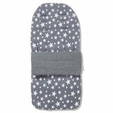 Fleece Fußsack / Gemütlich Zehen Kompatibel Mit Bugaboo Amaise - Grau Star