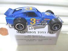 Matchbox 1992 MIKE McLAUGHLIN Modified PROMOTIONAL BLUE SEAT Race Car Mint Boxed