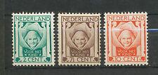Nederland  141 - 143 ongebruikt