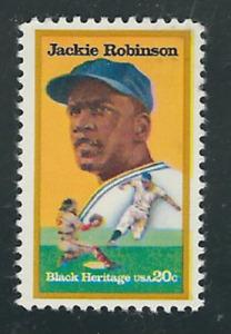 US - 1982 Jackie Robinson (Black Heritage) Scott #2016 - VF MNH