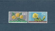 Sénégal  poste aérienne  flore  fleurs  1967   num: 59/60  **