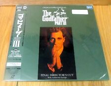 THE GODFATHER part 3 LETTERBOX  THX  LASERDISC new