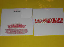 RARE CD MAXI SINGLE DAVID BOWIE GOLDEN YEARS 5 TITRES NEUF