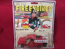 CHEMICAL FIRE ENGINE NO. S 8115 DIE CAST 1/64