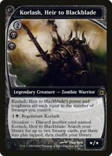 Korlash, Heir to Blackblade Future Sight NM-M Black Rare MAGIC MTG CARD ABUGames