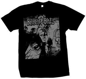 Broken Bones shirt discharge gbh exploited toxic holocaust slayer FOAD punk kbd