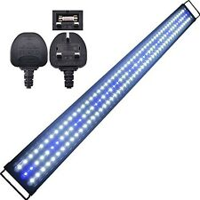 AquarienEco 1-6ft Aquarium Light For 120cm-153cm Marine And Cold Water Tank LED