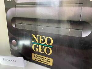 NEO GEO AES Console System Boxed neogeo SNK Tested JAPAN Manual