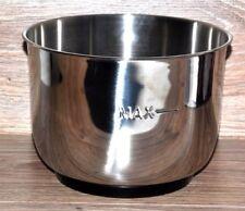 Bol de acero inoxidable 3l Cuenco para Robot de cocina clásico by Gourmetmaxx