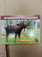 "Wisconsin Wildcards, Moose, Large Mammals, 3-1/2"" X 2-1/2"""