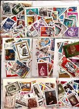 RUSSIE URSS  Lot de 50 timbres oblitérés ,bon etat, tous differents  CCCP
