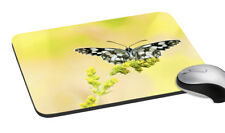 Butterfly Printed Mouse Pad Easy Typing Computer & Laptop Mouse Support Mat Pad