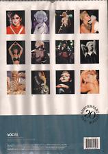 MADONNA 2004 CALENDAR, 20TH ANNIVERSARY EDITION,  NEW !