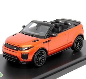 Range Rover Evoque Covertible Phoenix Orange 1:43 Scale Model by TSM Models