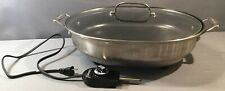 """Cuisinart 16"""" Covered Non Stick Electric Skillet Model #CSK-150 Power Tested#2"""