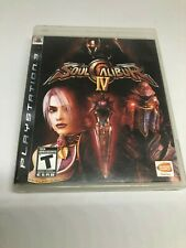 Playstation 3 PS3 Soul Calibur IV Complete with Manual Free Postage scratch free
