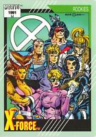 X-FORCE / Marvel Universe Series 2 (Impel 1991) BASE Trading Card #148