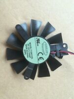 XFX HD5550 GT240 GT220 Graphics Card Cooling Fan  T126010SL 12V 0.1A 2-Pin