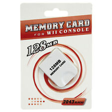 GameCube - 128 MB Memory Card Hexir (Game Cube Wii 2043 Blocks 128MB Storage)