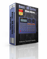 Boss DR series Kits/Drum Machine WAV Samples & Sounds Library: digital delivery