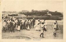 CARTE POSTALE AFRIQUE DJIBOUTI FETE MUSULMANE