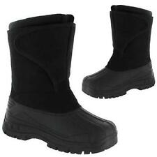 LADIES SNOW BOOTS GIRLS WINTER MUCKER FUR THERMAL WELLINGTONS SKI SHOES SIZE 4-8