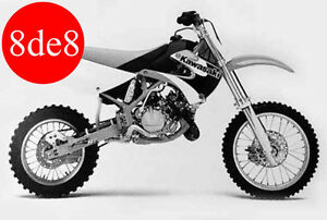 Kawasaki KX 85 (2007) - Manual de taller en CD (En ingles)