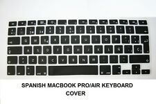 EU UK Apple iMac sans fil clavier QWERTY ESPAGNOL protecteur de couverture en silicone New