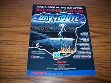 SUNSOFT BAY ROUTE VIDEO ARCADE GAME FLYER PROMO ADVERTISING SHEET 1989
