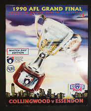 1990 Grand Final Football Record Collingwood v Essendon Match Day edition