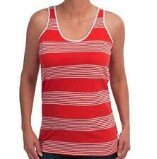 Boast - Women's M - $48 - Red & White Striped 100% Cotton Tennis Tank Top