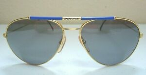 NOS Boeing Collection By Carrera 5607-42 Aviator Sunglasses - Made In Austria -