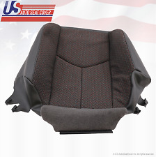 2003 - 2007 Silverado 1500 2500 3500 HD Driver Bottom Cloth Seat Cover Dark Gray