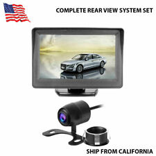 Rear View Backup Camera And Monitor Complete System Kit