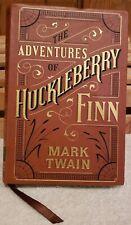 The Adventures of Huckleberry Finn - Mark Twain Barnes & Noble Soft Leather 2015