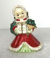 """Vintage NAPCO Angel Figurine With Gift, Wreath And Bouquet Japan Model 5Q-115 4"""""""