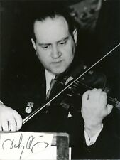 DAVID OISTRAKH Violinist autograph tipped on an original photograph