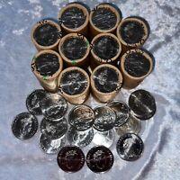 2021 20c Twenty Cent Coin Roll x 1 - JC Jody Clark Effigy Unc. Head/Tail
