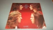SLADE - OLD NEW BORROWED AND BLUE -  LP - MADE IN UK