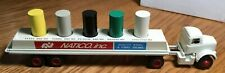 Winross White 9000 NATCO Tractor/Flatbed Barrell/Drum Trailer 1/64