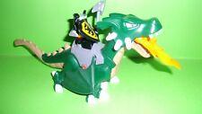 Lego Duplo 7846 Großer grüner Drache mit Drachenritter,Ergänzung Ritterburg