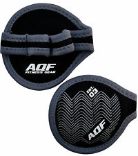 AQF Neoprene Weight Lifting Gel Grips Training Gym Straps Gloves Hand Thick Pair