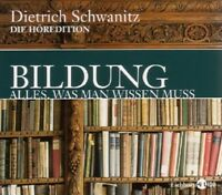 MATTHIAS/SCHWANITZ,DIETRICH PONNIER-BILDUNG-ALLES,WAS MAN WISSEN MUSS 12 CD NEU