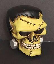 Frankenstein Skull Head Shift Knob Car Manuel Drag Stick Death Hot Rat Rod Drag