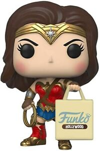 Funko Pop # 298 Wonder Woman With Hollywood Bag Funko Hollywood new in hand