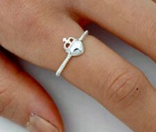 .925 Sterling Silver Ring size 4 Designer Claddagh Womens Ladies Kids New p74