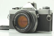 [Near Mint] OLYMPUS OM-1N + OM-System Auto-S F.Zuiko 50mm F/1.8 from JAPAN 0952