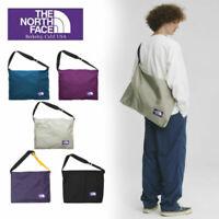 THE NORTH FACE PURPLE LABEL  Messenger  Shoulder Bag Black Purple  NN7754N F/S