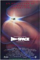 INNER SPACE MOVIE POSTER Original SS 27x40 DENNIS QUAID STEVEN SPIELBERG Sci-Fi